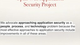 Practical Security for Web Applications